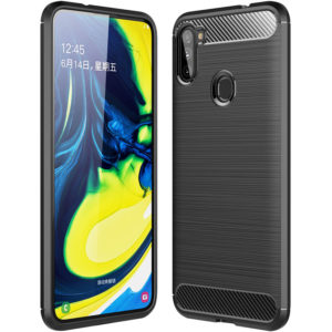 Cиликоновый TPU чехол Slim Series для Samsung Galaxy M11 – Черный