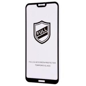 Защитное стекло 3D (5D) Perfect Glass Full Glue на весь экран для Huawei P20 Lite — Black