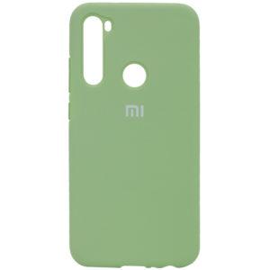 Оригинальный чехол Silicone Cover 360 с микрофиброй для Xiaomi Redmi Note 8T – Мятный / Mint
