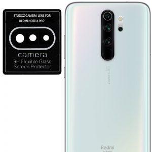 Гибкое защитное стекло 0.18mm на камеру для Xiaomi Redmi Note 8 Pro – Black