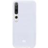 Оригинальный чехол Silicone Cover 360 с микрофиброй для Xiaomi Mi 10 / Mi 10 Pro – Белый / White