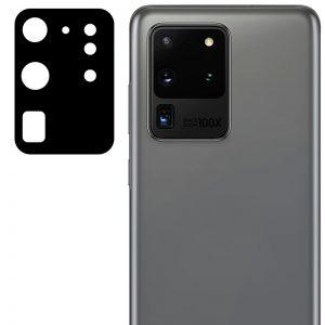 Гибкое защитное стекло 0.18mm на камеру для Samsung Galaxy S20 Ultra – Black