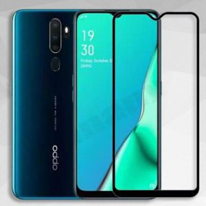 Защитное стекло 3D (5D) Full Glue Armor Glass для Oppo A9 / A5 (2020) – Black