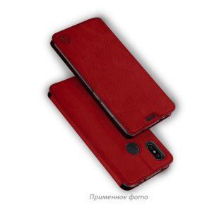 Кожаный чехол-книжка 360 CLASSIC для Xiaomi Redmi Note 4 / 4x (Snapdragon) – Красный