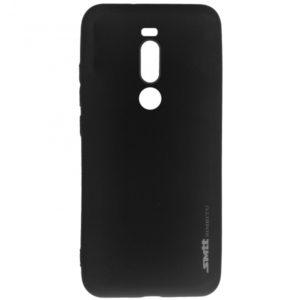 Матовый силиконовый TPU чехол для Meizu M8 Note / Note 8 – Black