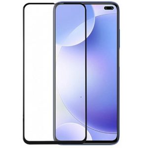 Защитное стекло 3D (5D) Full Glue Armor Glass на весь экран для Xiaomi Redmi K30 – Black