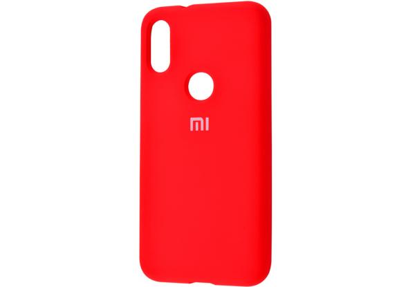 Оригинальный чехол Silicone Cover 360 с микрофиброй для Xiaomi Redmi Note 5 / 5 Pro – Red