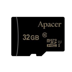 Карта памяти Apacer Micro SD 32GB Class HC 10 – Black