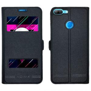 Кожаный чехол-книжка Moмax для Huawei Honor 9 Lite – Black