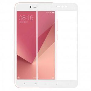 Защитное стекло 3D (5D) Perfect Glass Full Glue Ipaky на весь экран для Xiaomi Redmi Note 5A / Note 5A Prime – White