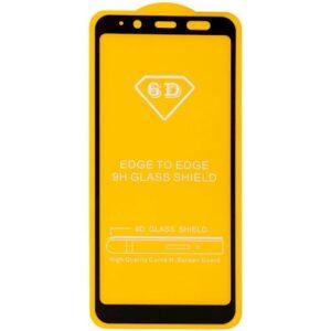 Защитное стекло 6D Full Glue Cover Glass на весь экран для Samsung Galaxy J6 2018 (J600) – Black