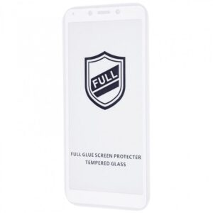 Защитное стекло 3D (5D) Tempered Glass Full Glue Cover на весь экран для Xiaomi Redmi 6 / 6A – White