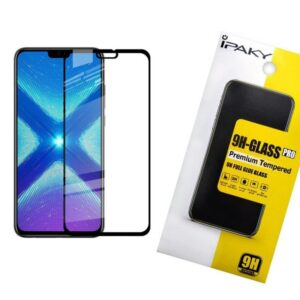 Защитное стекло 3D (5D) Perfect Glass Full Glue Ipaky на весь экран для Huawei Honor 8x – Black