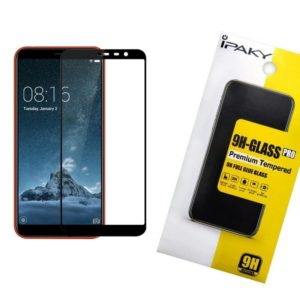 Защитное стекло 3D (5D) Perfect Glass Full Glue Ipaky на весь экран для Meizu M6T – Black