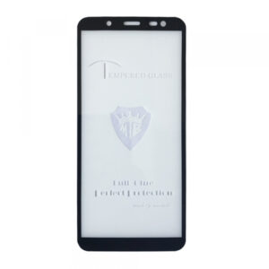 Защитное стекло 3D (5D) Tempered Glass Full Glue Cover на весь экран для Samsung Galaxy J6 2018 (J600) – Black