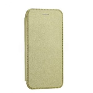 Кожаный чехол-книжка Royal Case для Meizu M5c – Gold