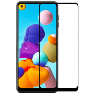Защитное стекло XD+ Full Glue для Samsung Galaxy A21 / A21s – Black