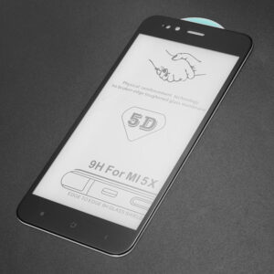Защитное стекло 5D Premium 9H Full Glue на весь экран для Xiaomi Mi 5x / Mi A1 – Black