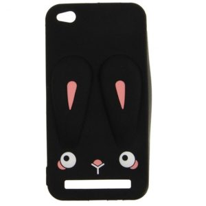 Силиконовый чехол 3D TOTO Silicone Cartoon Network Rabbit для Xiaomi Redmi 5A – Black