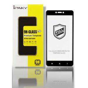 Защитное стекло 3D (5D) Perfect Glass Full Glue Ipaky на весь экран для Xiaomi Redmi 4x – Black