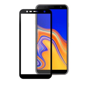 Защитное стекло 3D (5D) Perfect Glass Full Glue Ipaky на весь экран для Samsung J4 Plus / J6 Plus – Black