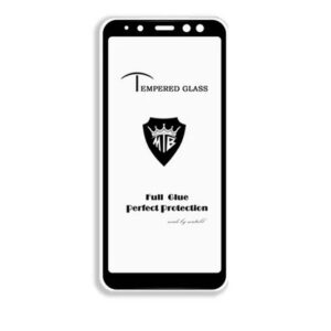Защитное стекло 3D (5D) Tempered Glass Full Glue Cover на весь экран для Samsung Galaxy A8 2018 (A530) – Black