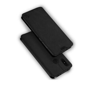 Кожаный чехол-книжка 360 CLASSIC для Samsung Galaxy J7 2015 (J700) – Черный
