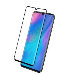 Защитное стекло 2.5D (3D) Full Cover на весь экран для Huawei P30 Pro — Black