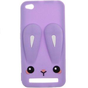 Силиконовый чехол 3D TOTO Silicone Cartoon Network Rabbit для Xiaomi Redmi 5A – Purple