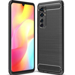 Cиликоновый TPU чехол Slim Series для Xiaomi Mi Note 10 Lite – Черный