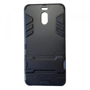 Ударопрочный чехол Transformer с подставкой для Meizu M6 Note – Black