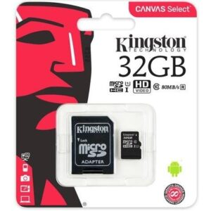 Карта памяти Kingston Micro SD 32GB Class HC-I 10 80 MB/S – Black