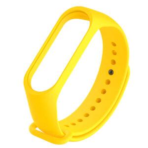 Силиконовый ремешок для Xiaomi Mi Band 5 – Желтый / Neon Yellow