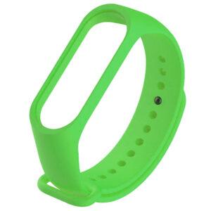 Силиконовый ремешок для Xiaomi Mi Band 5 – Зеленый / Green