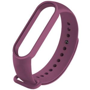 Силиконовый ремешок для Xiaomi Mi Band 5 – Фиолетовый / Grape