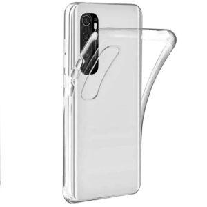 Прозрачный силиконовый TPU чехол для Xiaomi Mi Note 10 Lite
