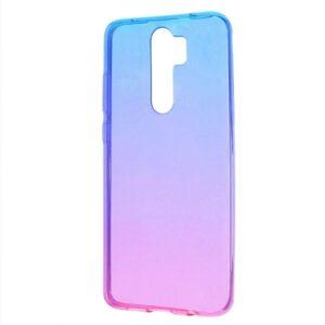 Чехол TPU Gradient Design Xiaomi Redmi 9 – Blue / pink