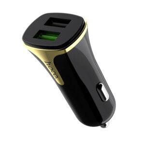 Автомобильное зарядное устройство HOCO Z31 Quick Charge 3.0 (2USB / 3.4A) – Black