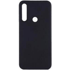 Матовый силиконовый TPU чехол для Huawei P40 Lite E / Y7P (2020) – Черный
