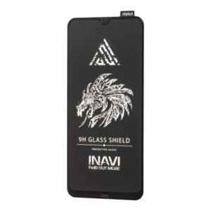 Защитное стекло 3D (5D) Inavi Premium на весь экран для Samsung Galaxy A01 / M01 — Black