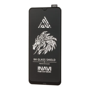 Защитное стекло 3D (5D) Inavi Premium на весь экран для Samsung A10 / A10s /M10 — Black