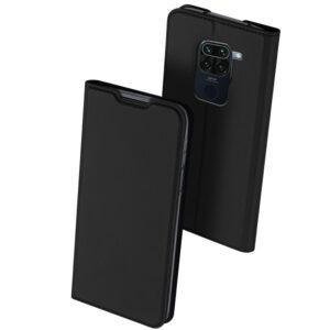 Чехол-книжка Dux Ducis с карманом для Xiaomi Redmi Note 9 / Redmi 10X – Черный
