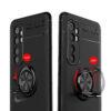 Cиликоновый чехол Deen ColorRing c креплением под магнитный держатель для Xiaomi Mi Note 10 Lite – Черный 59062
