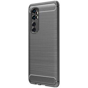 Cиликоновый TPU чехол Slim Series для Xiaomi Mi Note 10 Lite – Серый