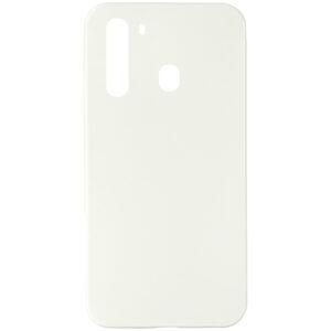 Чехол TPU LolliPop для Samsung Galaxy A21 – Белый