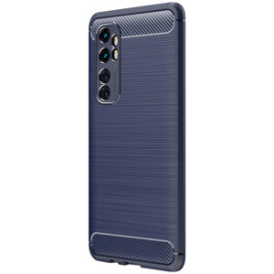 Cиликоновый TPU чехол Slim Series для Xiaomi Mi Note 10 Lite – Синий