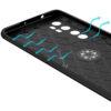 Cиликоновый чехол Deen ColorRing c креплением под магнитный держатель для Xiaomi Mi Note 10 Lite – Черный 59060