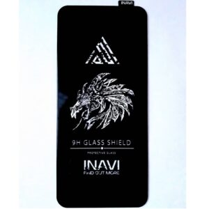Защитное стекло 3D (5D) Inavi Premium на весь экран для Samsung Galaxy A11 / M11  — Black