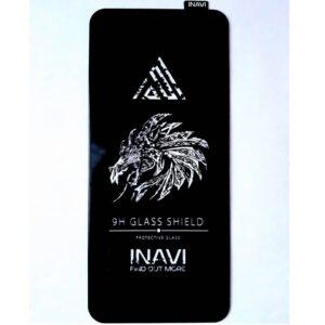 Защитное стекло 3D (5D) Inavi Premium на весь экран для Xiaomi Redmi Note 9s / Note 9 Pro / Note 9 Pro Max— Black