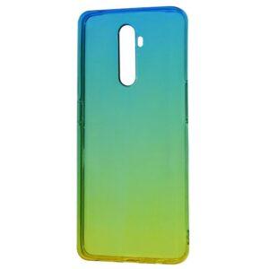 Чехол TPU Gradient Design Xiaomi Redmi 9 – Green / yellow